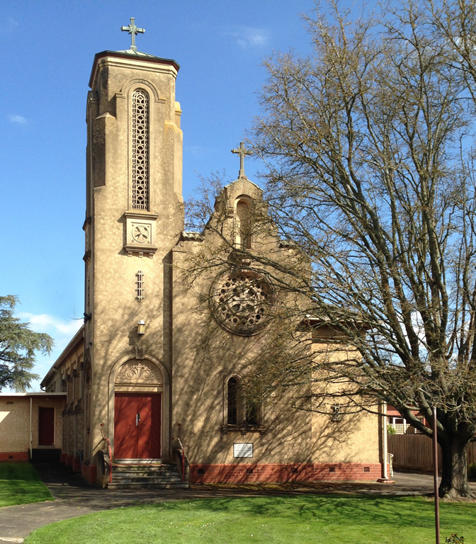Church near Lake Wendouree