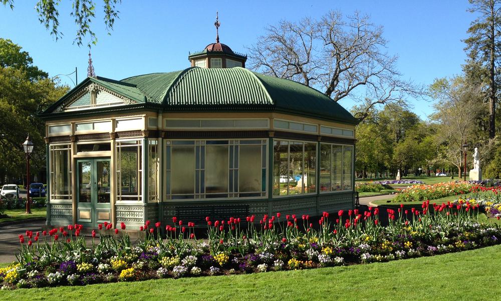 Conservatory Ballarat Botanical Gardens