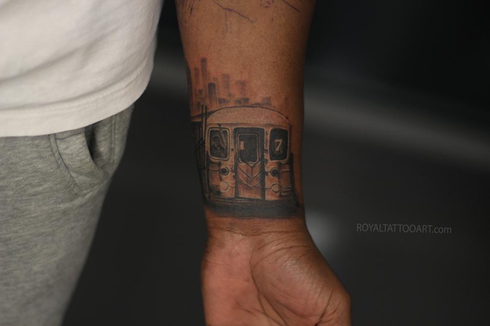 Tattoos Royal Jafarov