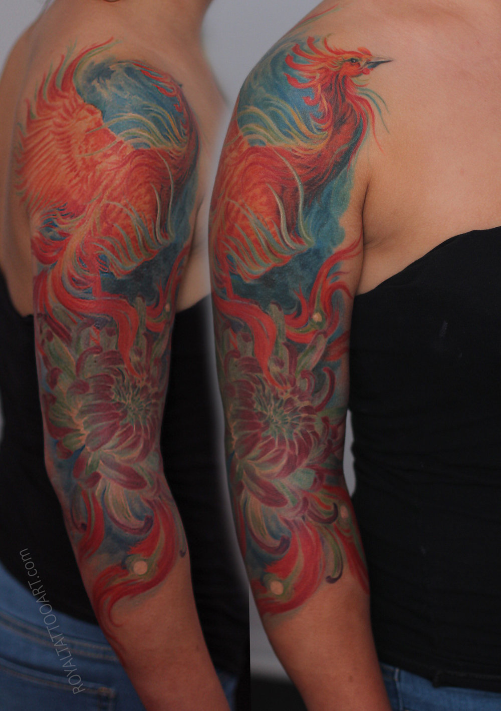 royal jafarov phenix tattoo pheonix water color realism nyc new york manhattan best tattoo studio shop artist costum brush stroke.jpg
