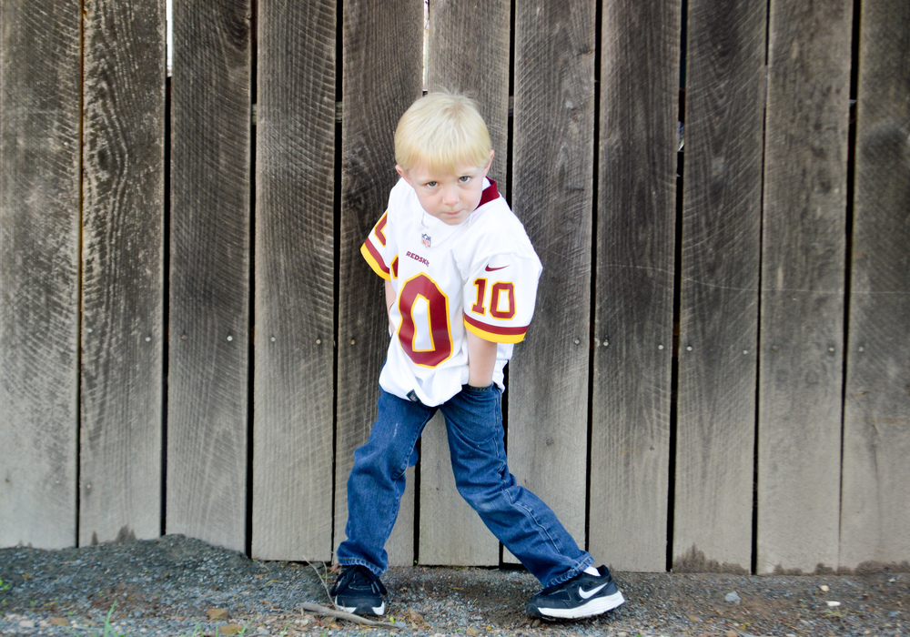 How awesome is this...Go SKINS!