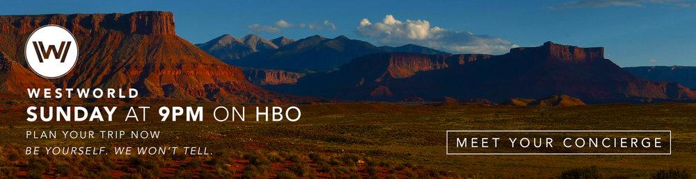 Westworld Banner Campaign