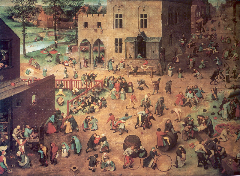 Bruegel's Child's Games