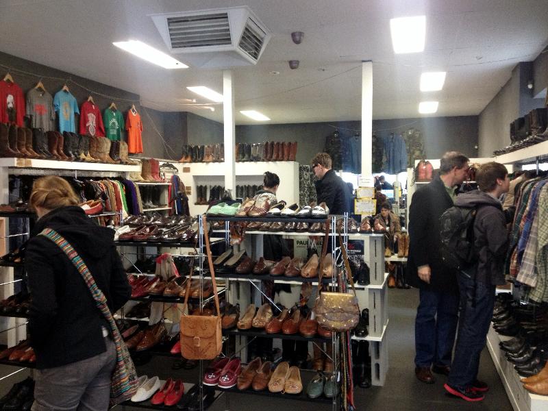 Shopping on Brunswick Street