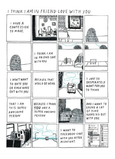 Series by Yumi Sakugawa, via Maria Popova's Explore.