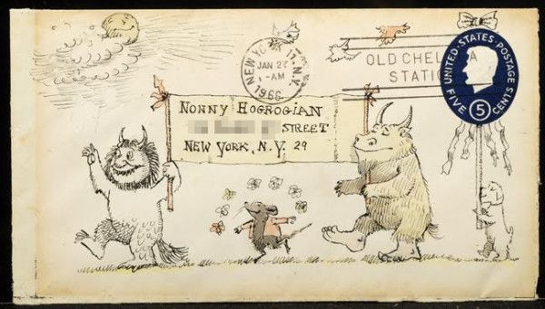 Speaking of wild rumpus, can you imagine receiving one of these Maurice Sendak letters?!