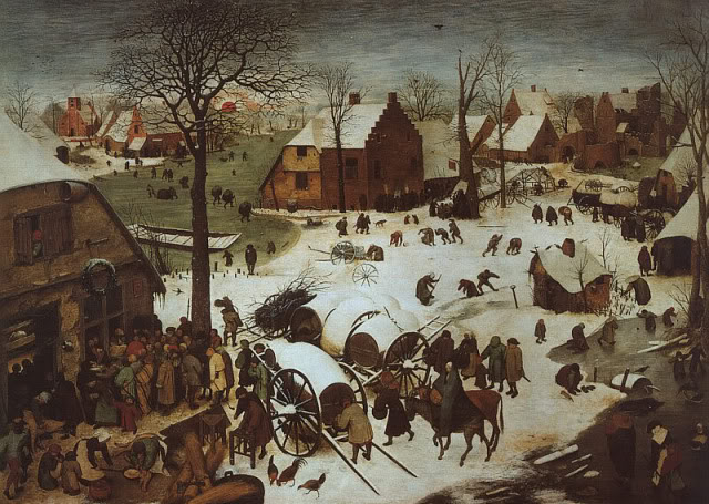 Pieter Brueghel, The Census at Bethlehem