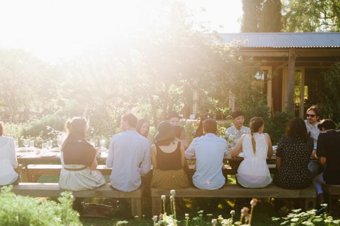 Gorgeous Kinfolk Dinner in Sydney, photovia
