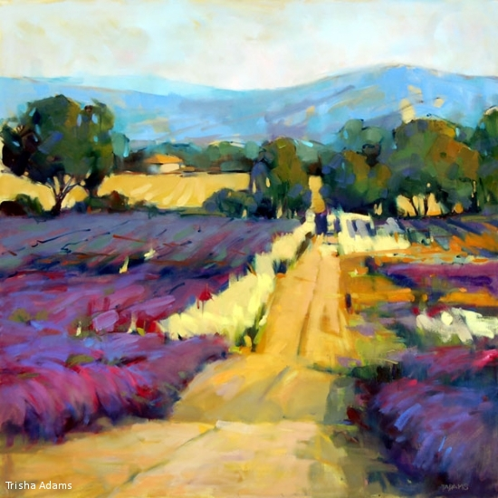 Return to the Lavender Field, Trisha Adams