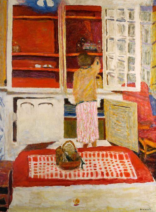 Pierre Bonnard, l'armoire blanche, 1931