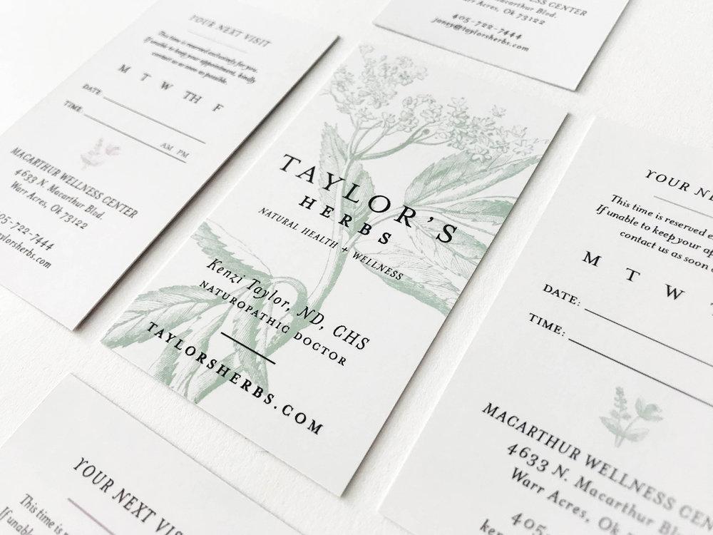 Taylor's herbs