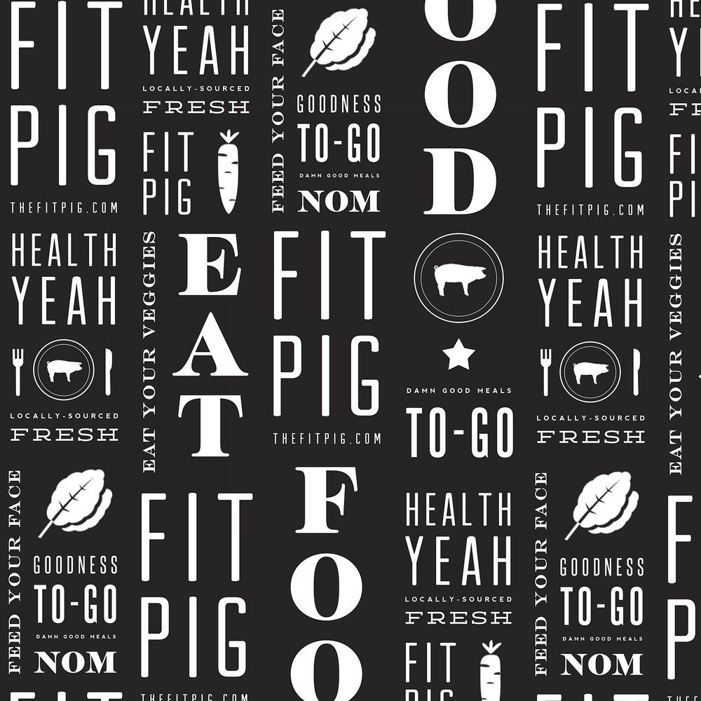 the fit pig branding