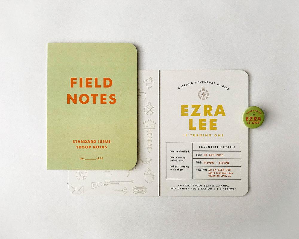 field notes invite