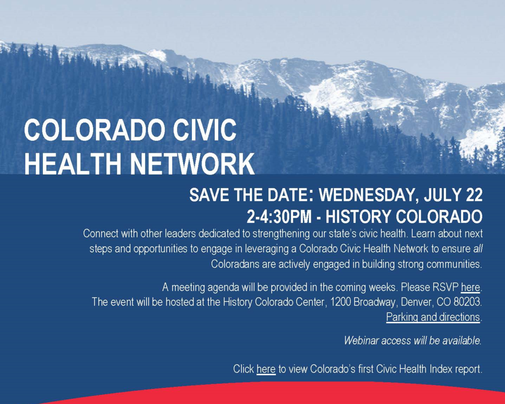 Civic Health Network Flyer 07.22.2015