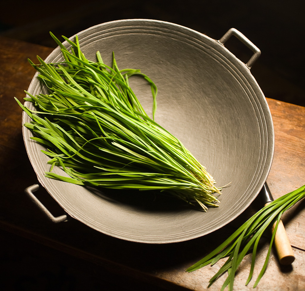 Chives and Wok
