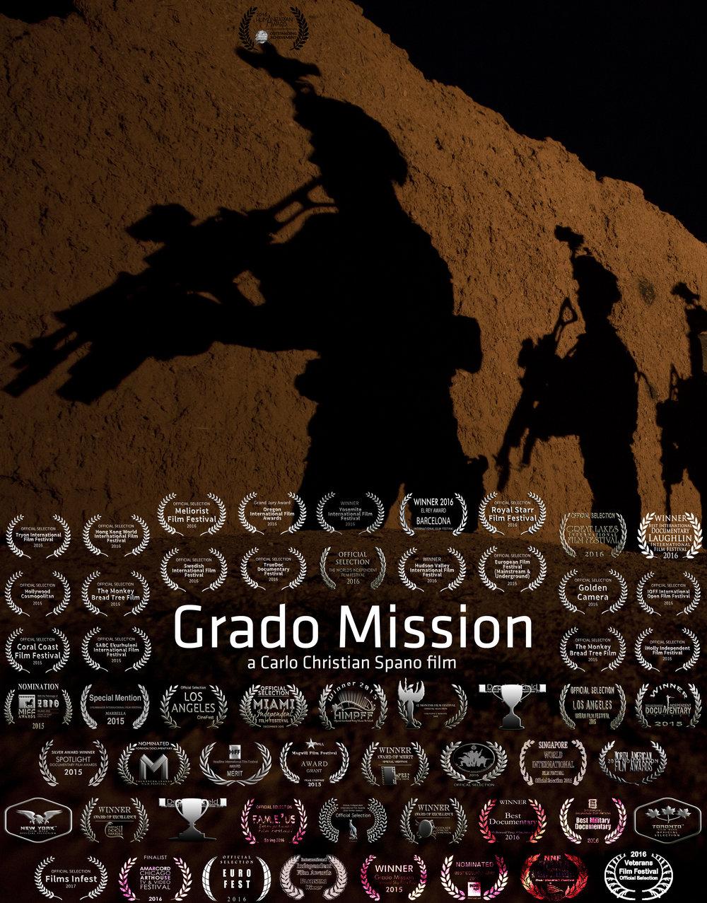 Grado Mission Poster