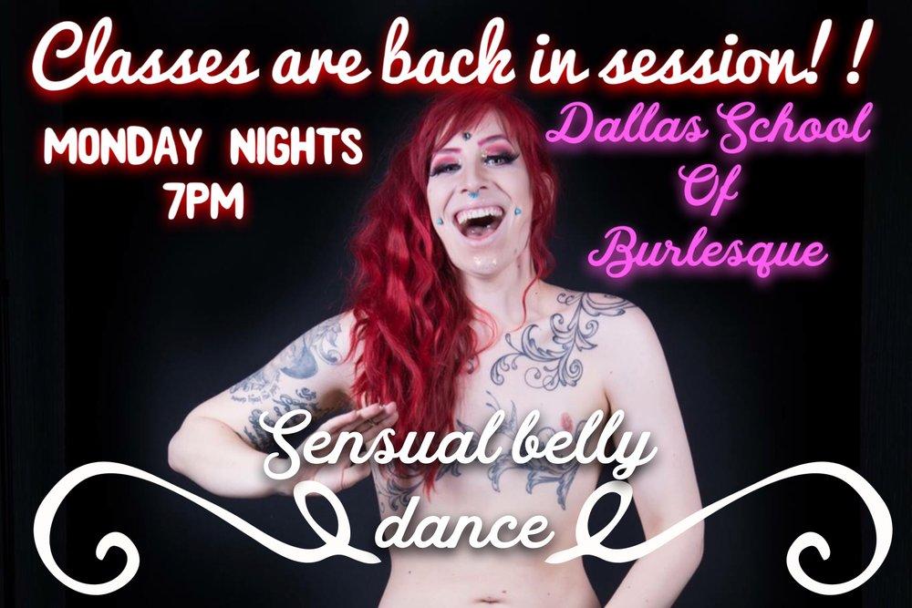Located:  Dallas School of Burlesque  2924 Main St, Suite 103  Dallas, TX 75226
