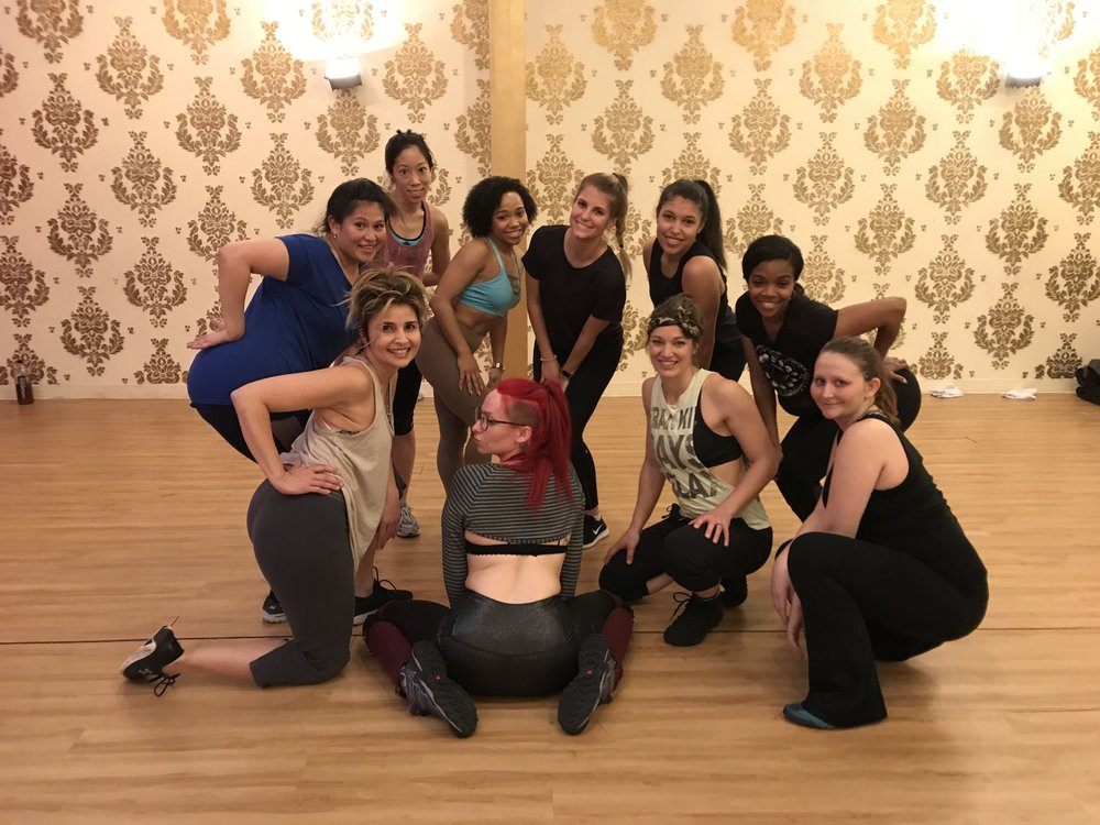 Dallas school of burlesque, 2018