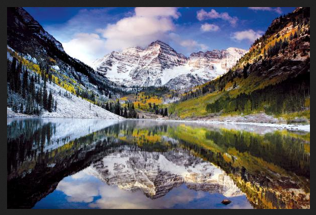 This photo was NOT taken by me. I lifted it off of the Visit Aspen website. They told me to go hike here. I want to photograph here, which means I will hike.