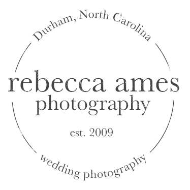 Rebecca Ames Photography | Raleigh Durham Wedding Photographer