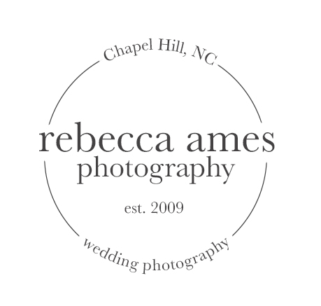 Rebecca Ames Photography | Chapel Hill Wedding Photographer