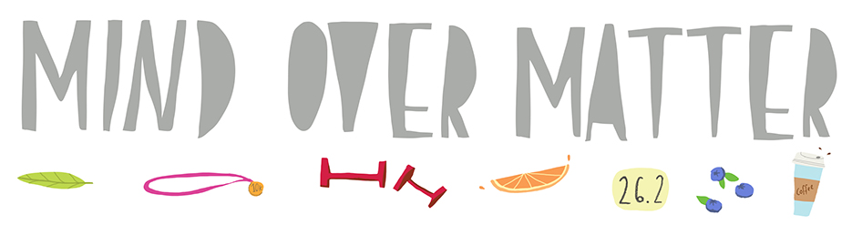 Mind Over Matter blog header