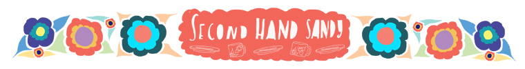 Second Hand Sandy etsy shop header