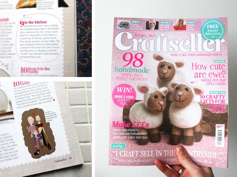 Craftseller magazine Feb 2014