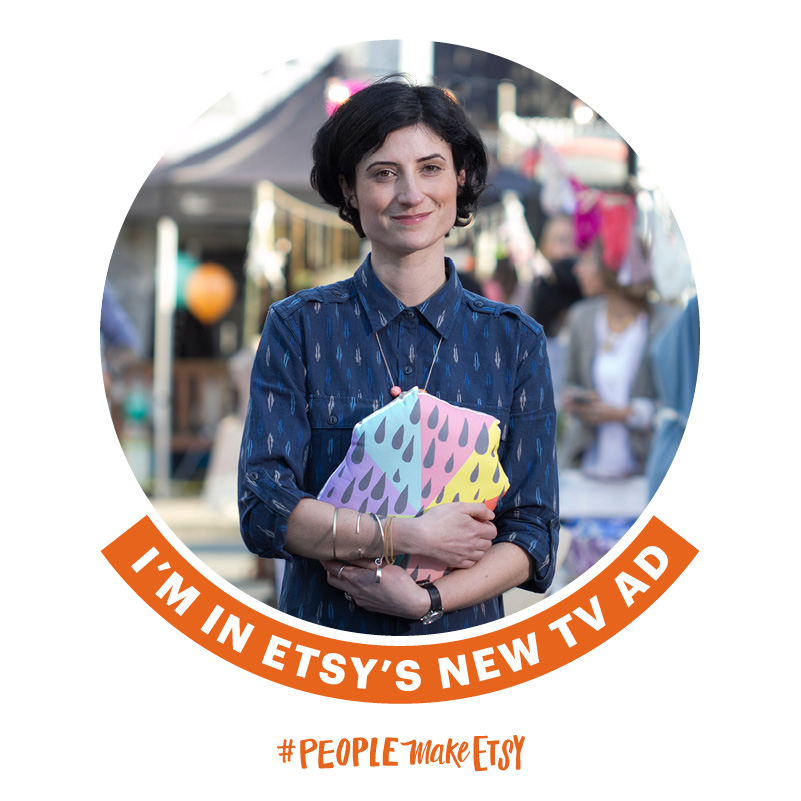 Part of 2014 etsy UK tv advert