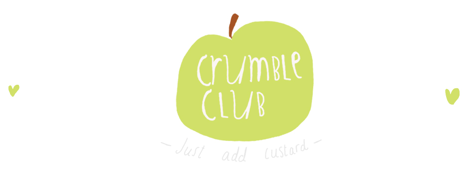 Crumble Club pudding website