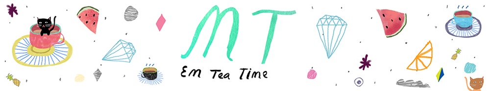 Em Tea Time blog header