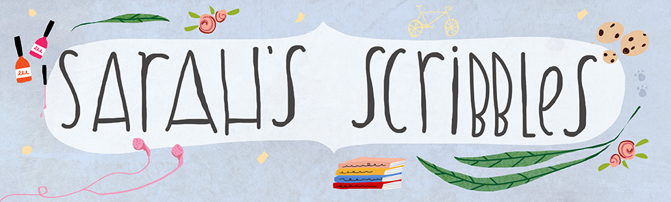 Sarah's Scribbles blog header