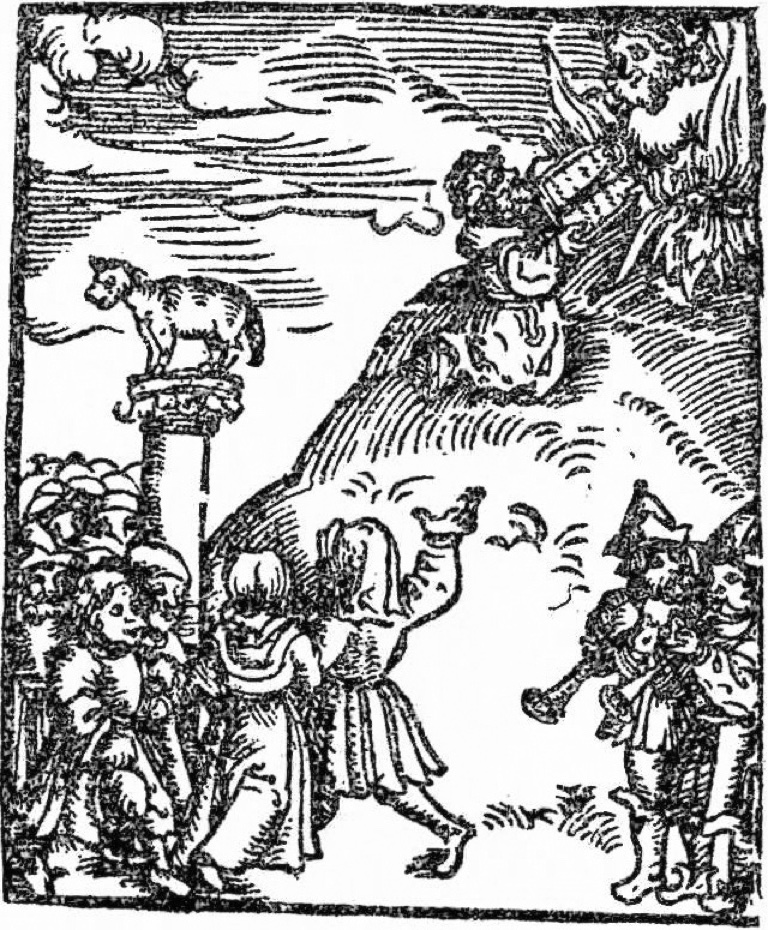 Image from 1536 edition of the Small Catechism. Clicking on it will take you to the source, a PDF excerpt from an edition published by Augsburg Fortress.