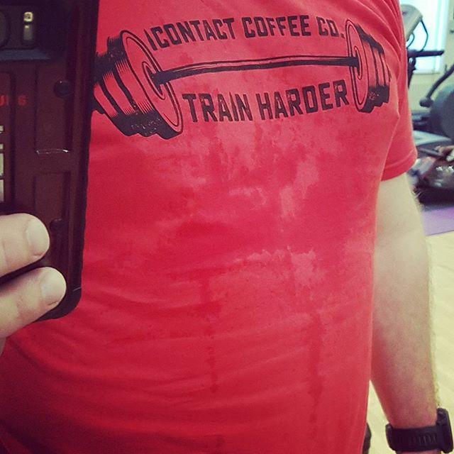 #TrainHarder @contactcoffeeco