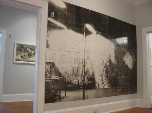 Darya Von Berner, Lupus Viator Atlanta (installation view), 1997. Image courtesy Spruill Gallery.
