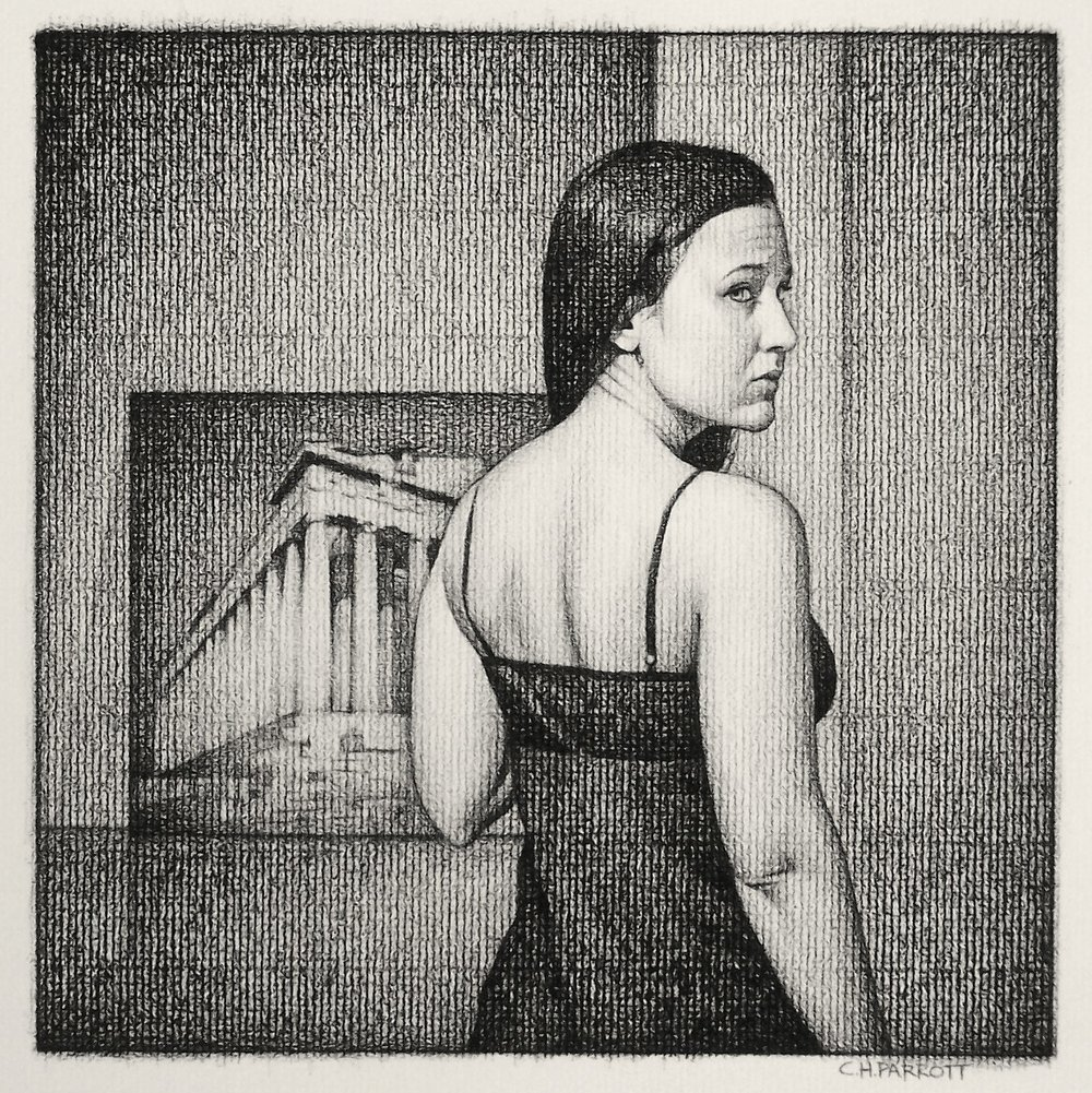 Fortune and Fate, 2007, Charcoal on Paper.jpg