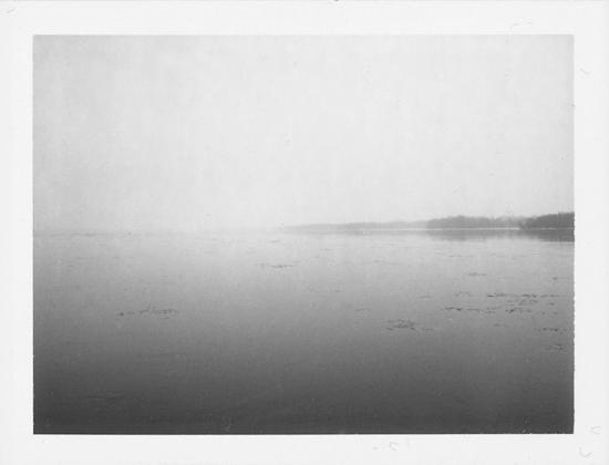 "Olga Janina- Polaroid - ""Ottawa River"""