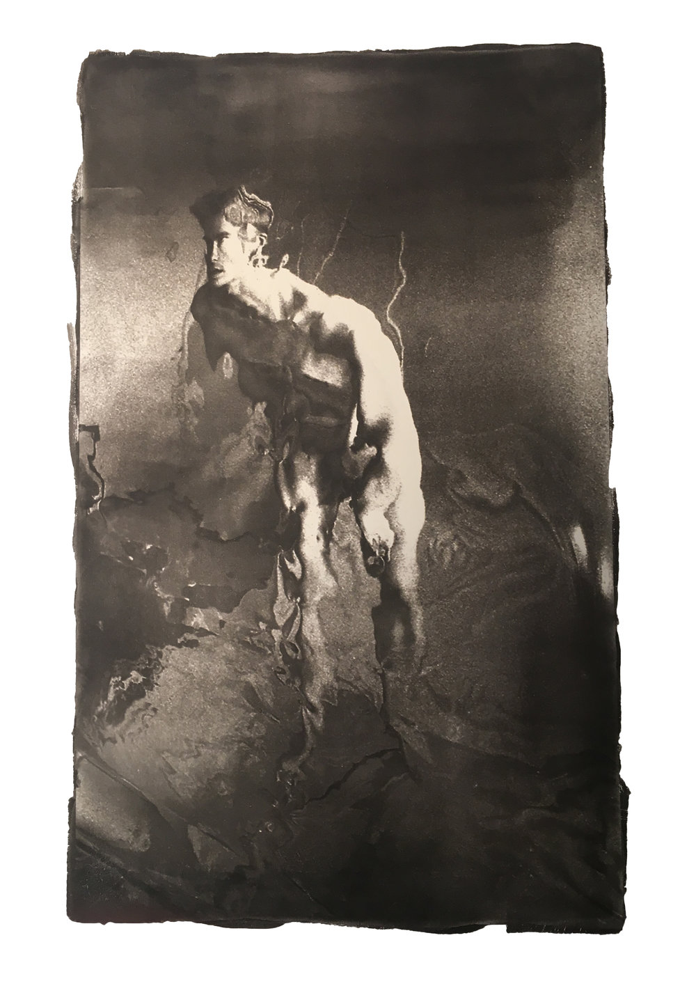 Top Analogue Print: Ernest Wiltshire with  Transformations