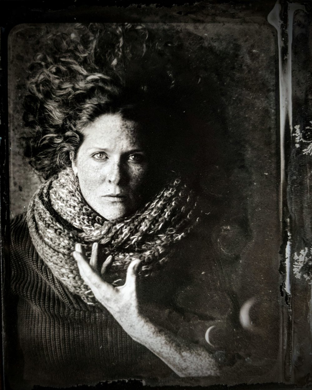 photograph by Daniel Thompson as part of WET PLATE COLLODION TINTYPES, summer 2017