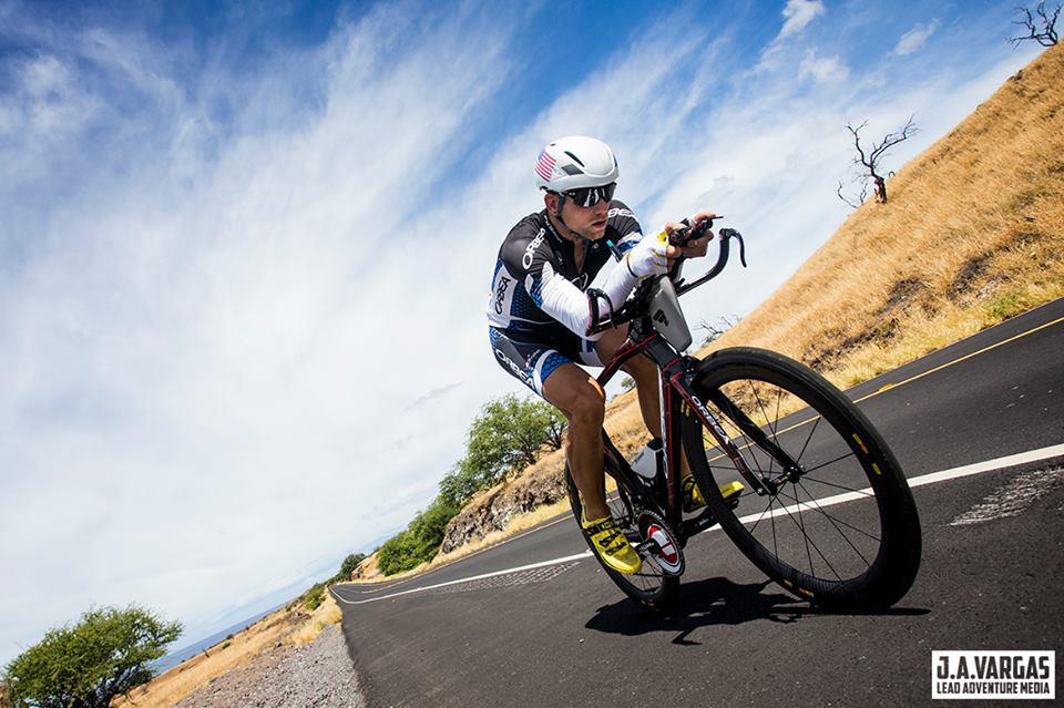 Our pro triathletes, including world bike record holder, Andrew Starykowicz (above), will guide you at IMFL. Image: (C) Jose Andres Vargas/Lead Adventure Media on assignment for RaceQuest Travel.