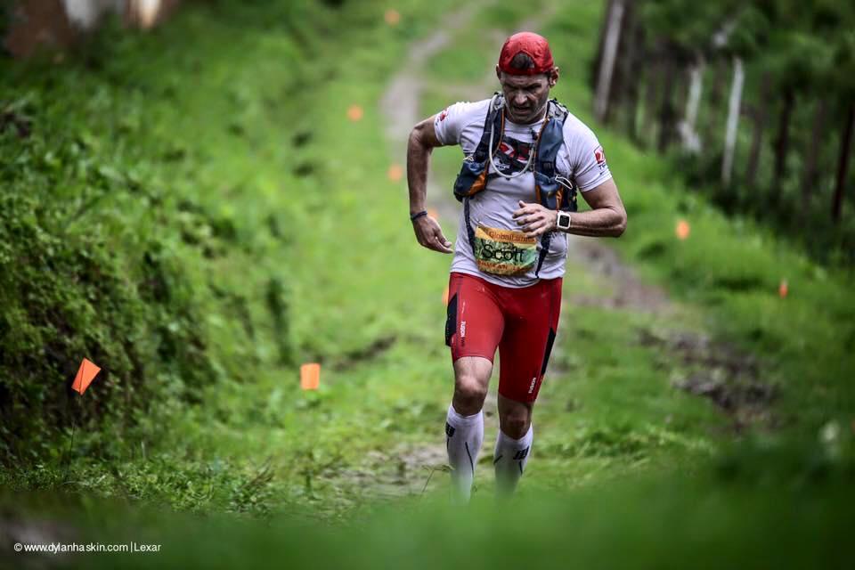 RaceQuest Travel Co-Founder, Scott Coey, racing tough in Bhutan. Photo: (C) Dylan Haskin, dylanhaskin.com