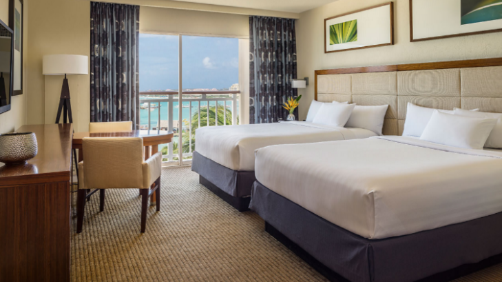 Beautiful, comfortable accommodations at the host hotel are standard when you book with RaceQuest Travel.
