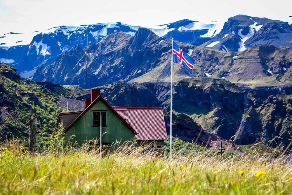 Night two on the trail is at the Thorsmork Langidalur (Porsmork) hut.