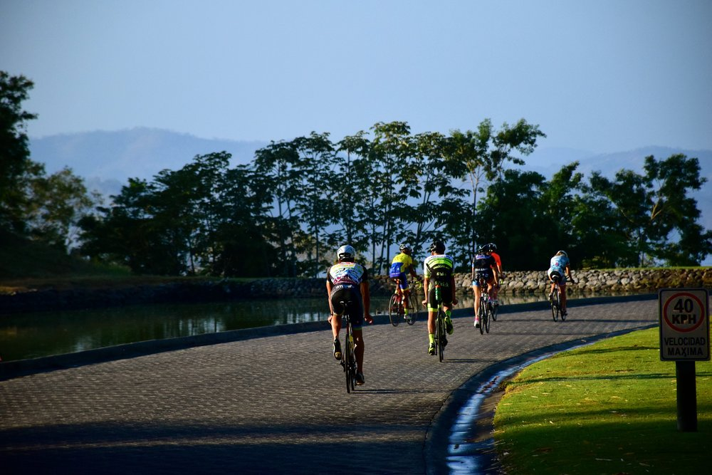 Bike on the IRONMAN Costa Rica course with SAG support.