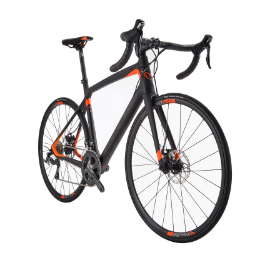 We offer carbon road bike rentals for $300 from our fleet of FELT Z6 disc bikes.