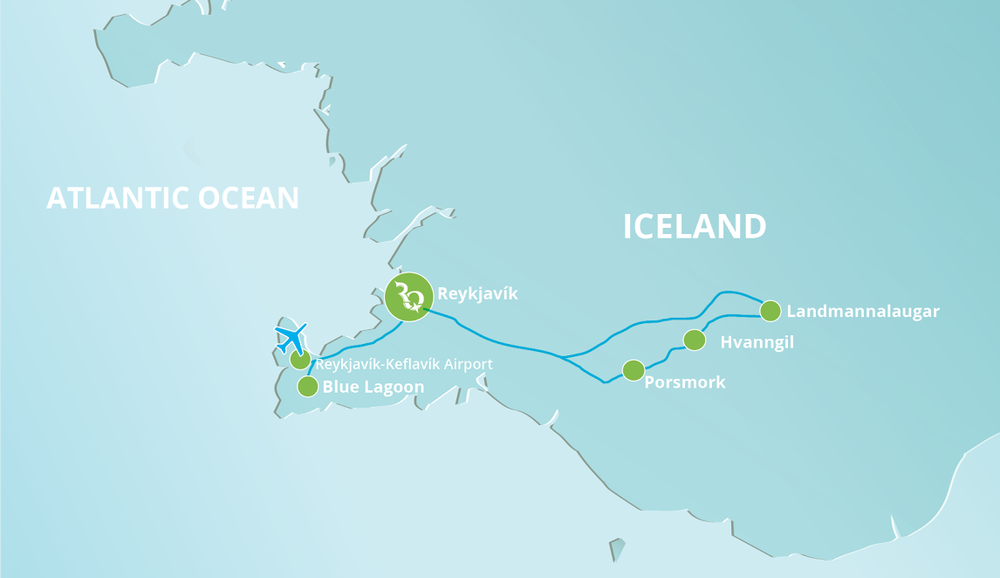 Click to view our Iceland route.