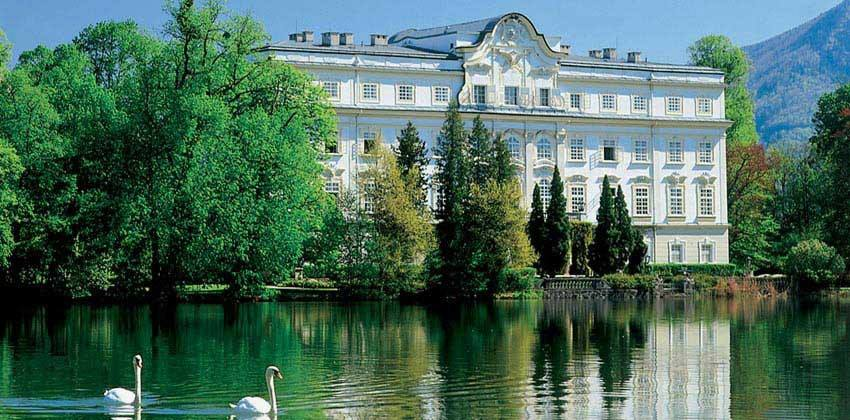 Our hotel in Salzburg, used for the Sound of Music film