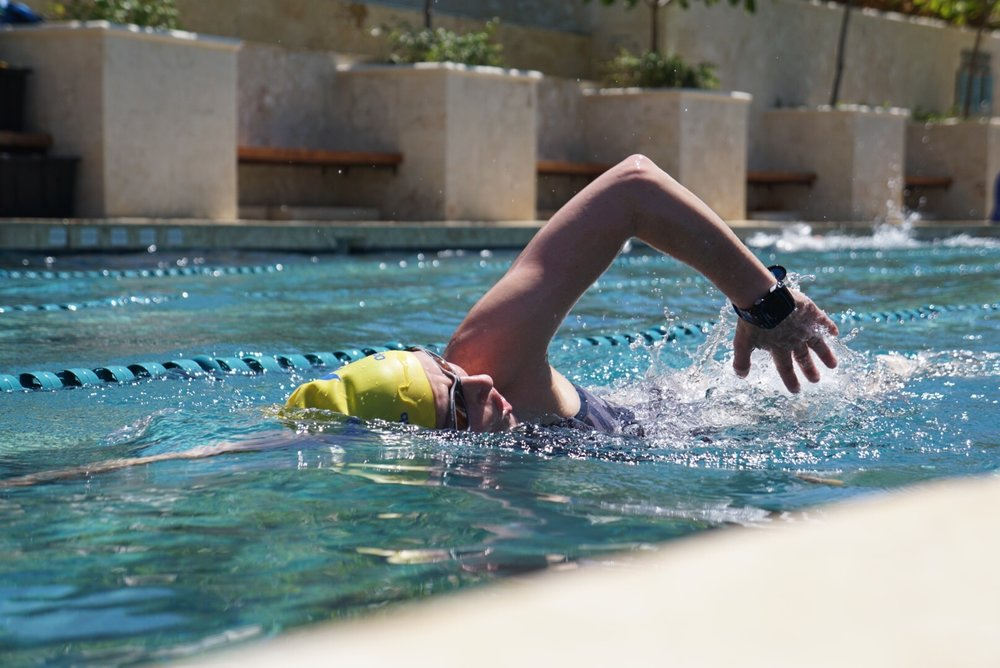 A Complete Training Base - 25m saltwater training pool (oceanfront)Private or group swimming lessonsTechnoGym equipment + Road bike and MTB rentalsPersonal training availableSpa and Advanced Recovery Treatments + Massage
