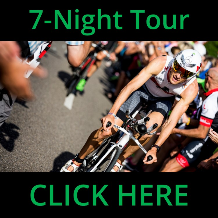 Classic 7-Night Roth Tour - Race Entry Access - LIMITED TIME!4-Star AccommodationsComplete Challenge Roth Tour ServicesIdeal for Teams, Clubs and GroupsINQUIRE ABOUT OUR TEAM PROGRAMCALL 1-855-872-8669