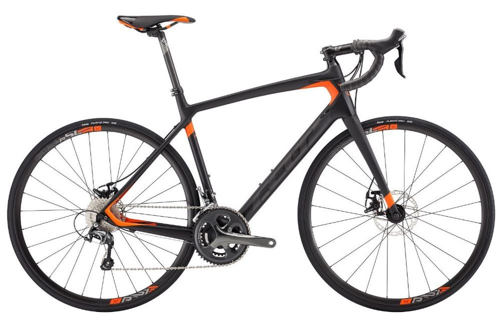 Rent a carbon road bike from us for just $300 for the week. (Available at checkout; please specify your bike size.)